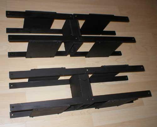 英国玩家生产的木头机器人 不使用伺服机 其它机器人 高清图片
